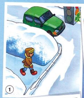 Три «закона» безопасности пешехода на дороге (памятка)